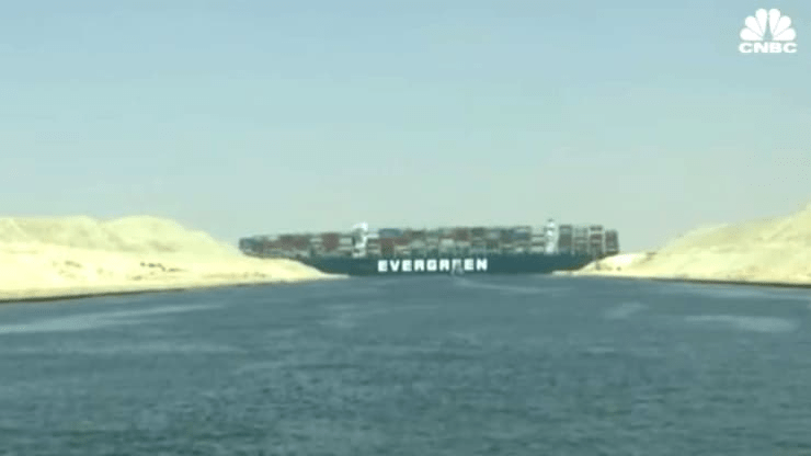 Ever Given, Cargo Ship that Ran Aground, is Still Stuck