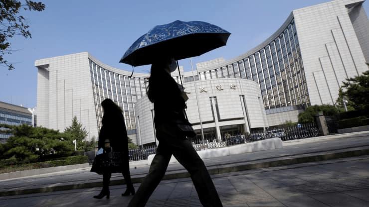 China's Central Bank Warns of Financial Risks