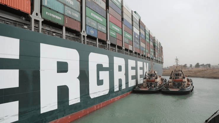 Suez Canal blockage is delaying an estimated $400M an hour in goods