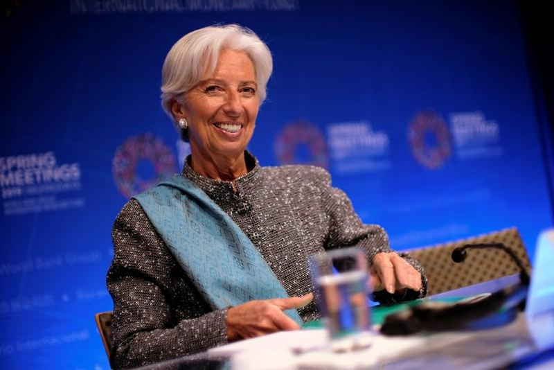 lagarde going to enter new post