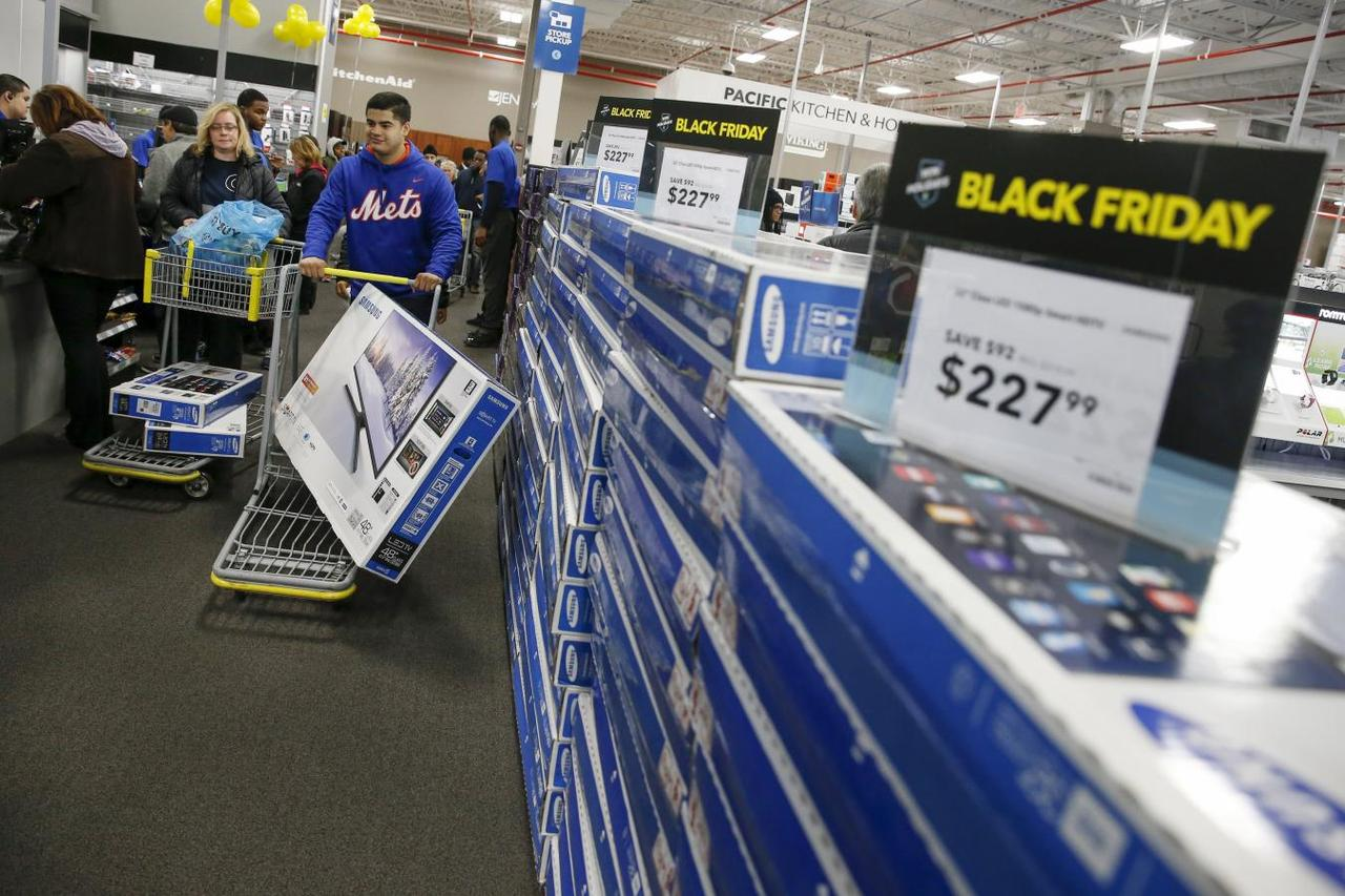 black friday eyed by wall street