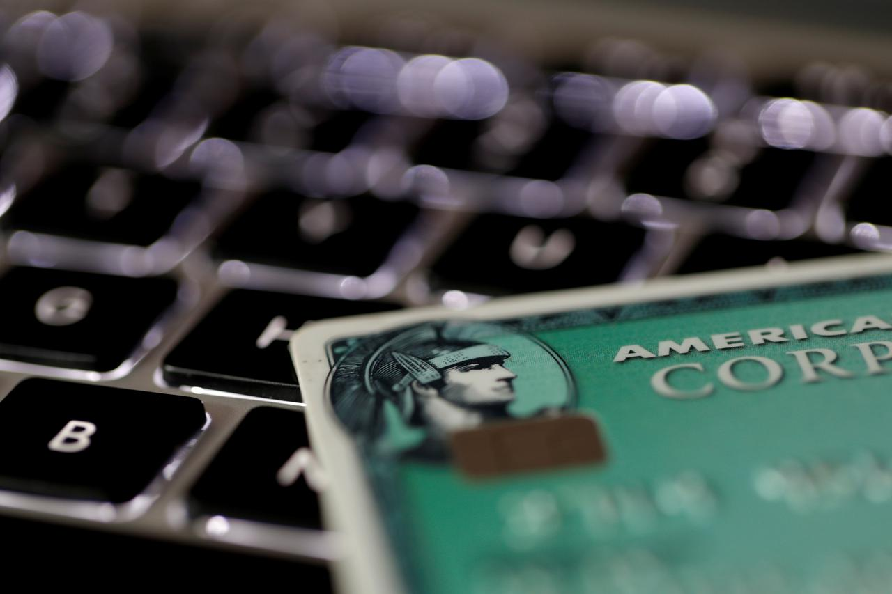 american express shares rise