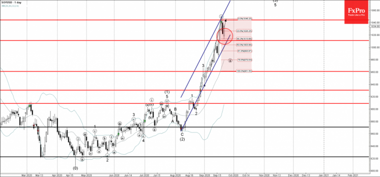 Soy Wave Analysis 22 September, 2020