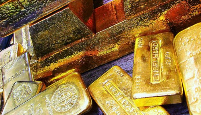 Gold prices fall as dollar remains ​​relatively stable