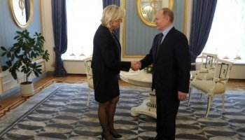 Le Pen: If elected, will consider lifting sanctions against Russia