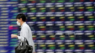 Review: Asian shares ease as China regulations dim sentiment
