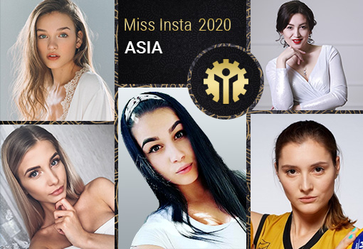 Results of Miss Insta Asia contest with prize pool of $45K