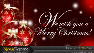 The New Forex company wishes you a Merry Christmas!