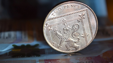 Pound Rises vs Dollar, Euro on Election Perky Mood
