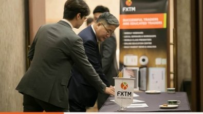 FXTM Partners Sponsors World Economy BAND Seminar in South Korea.