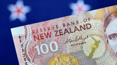 Dollar drops against riskier assets, kiwi and Aussie steady
