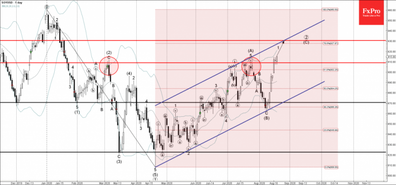 Soy Wave Analysis – 19 August, 2020