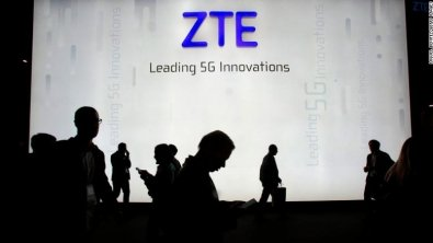 U.S. bans China's ZTE Corp from buying American software