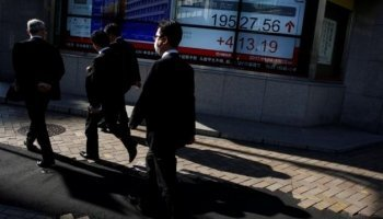 Review: Cautiousness declines in Asia as yen falls