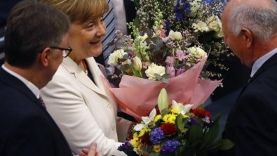 Merkel was elected as chancellor for fourth straight term