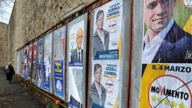 Silvio Berlusconi's right-wing coalition on track to win Italy's election