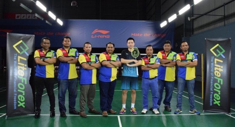 LiteForex became a sponsor of a badminton clinic in Malaysia