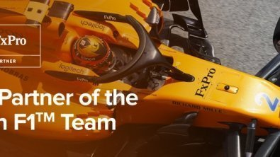 FxPro Forex Analysis: FxPro and McLaren F1™ Team Announce Partnership Agreement