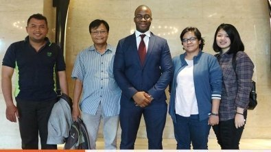 FXTM Research Analyst Lukman Otunuga's Indonesian Media Tour