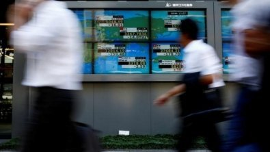 Asian shares fall amid geopolitical tensions